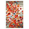 This item: Tossed Floral Multi-Colored Rectangular: 5 Ft. x 8 Ft. Rug