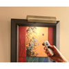 This item: Slimline Antique Brass 8 Inch Cordless LED Remote Control Picture Light