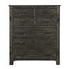This item: Abington 5 Drawer Chest in Weathered Charcoal