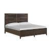 This item: Modern Geometry Palladium 91-Inch King Bed