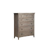 This item: Paxton Place Dove Tail Grey Wood Drawer Chest