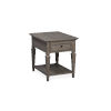 This item: Lancaster Dove Tail Grey End Table