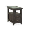 This item: Bay Creek Graphite Chairside End Table