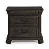 This item: Bellamy Traditional Peppercorn 3 Drawer Nightstand
