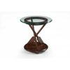 This item: Beaufort Dark Oak Round End Table