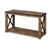 This item: Penderton Natural Sienna Wood Rectangular Sofa Table