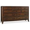 This item: Palisade Dark Wood Dresser