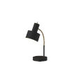 This item: Stark Black and Antique Brass One-Light Desk Lamp