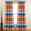 This item: Boho Stripe 52 x 84 In. Window Curtain Panel, Set of 2