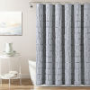 This item: Waffle Stripe Light Gray 72 x 72 In. Single Shower Curtain