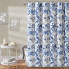 This item: Sydney Blue and White 72 x 72 In. Single Shower Curtain