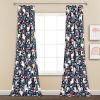 This item: Unicorn Heart Navy 52 x 84 In. Window Curtain Panel, Set of 2