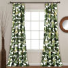This item: Tropical Paradise Green 52 x 84 In. Window Curtain Panel, Set of 2