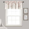 This item: Weeping Flower Blush and Gray 52 x 18 In. Window Valance