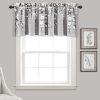 This item: Weeping Flower Gray 52 x 18 In. Window Valance