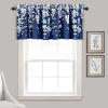 This item: Weeping Flower Navy and White 52 x 18 In. Window Valance
