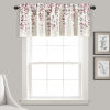 This item: Weeping Flower Purple and White 52 x 18 In. Window Valance