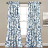 This item: Dolores 84 x 52 In. Blue Curtain Set