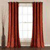 This item: Prima Velvet Rust 84 x 38 In. Solid Room Darkening Window Curtain Set