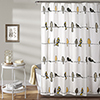 This item: Rowley Birds Yellow and Gray 72 In. Shower Curtain