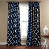 This item: Geo Navy 84 x 52-Inch Blackout Curtain Panel Pair
