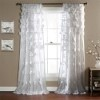 This item: Riley White 84 x 54-Inch Curtain Single Panel