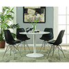 This item: White Round Dining Table