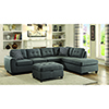 This item: Grey Storage Ottoman with Button Tufting