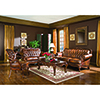 This item: Tri-Tone Warm Brown Classic Rolled Arm Sofa