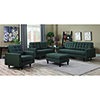 This item: Charcoal Sofa with Tufted Seat and Back Cushions