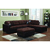 This item: Black Reversible Sectional