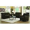 This item: Brown Padded Sofa with Nail Heads