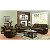 This item: Brown Motion Sofa with Nailhead Studs Buckskin