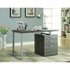 This item: Weathered Grey Office Desk with File Drawer and Reversible Set-Up