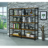 This item: Antique Nutmeg Four-Shelf Open Bookcase