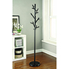 This item: Black 18-Hook Coat Rack