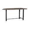 This item: Tundra Grey Sand Blast Dining Table
