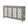This item: Gray 35-Inch Four-Door Tv Stand Cabinet