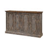 This item: Distressed Blue 40-Inch Four-Door Tv Stand Cabinet