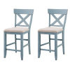 This item: Bar Harbor Blue Counter Stool, Set of 2