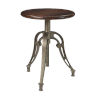 This item: Honey Brown and Antique Silver 26-Inch Barstool