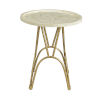 This item: Gold 20-Inch Accent Table