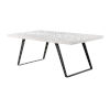 This item: Aspen Court II Court Herringbone White Rub Dining Table