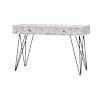 This item: Aspen Court II Court Herringbone White Rub Two-Drawer Console Table