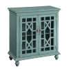 This item: Teal Two-Door Cabinet