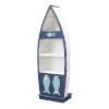 This item: Ahoy there Blue and White Bookcase
