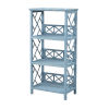 This item: Clear Sailing Blue Sky Rectangle Bookcase