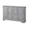 This item: Gramercy Weathered Grey Media Credenza