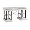 This item: Gabby Hazy White Desk