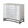 This item: Gabby White Black Cabinet
